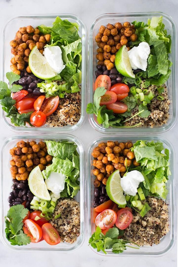 21 Easy Vegetarian Meal Prep Recipes to Make - An Unblurred Lady