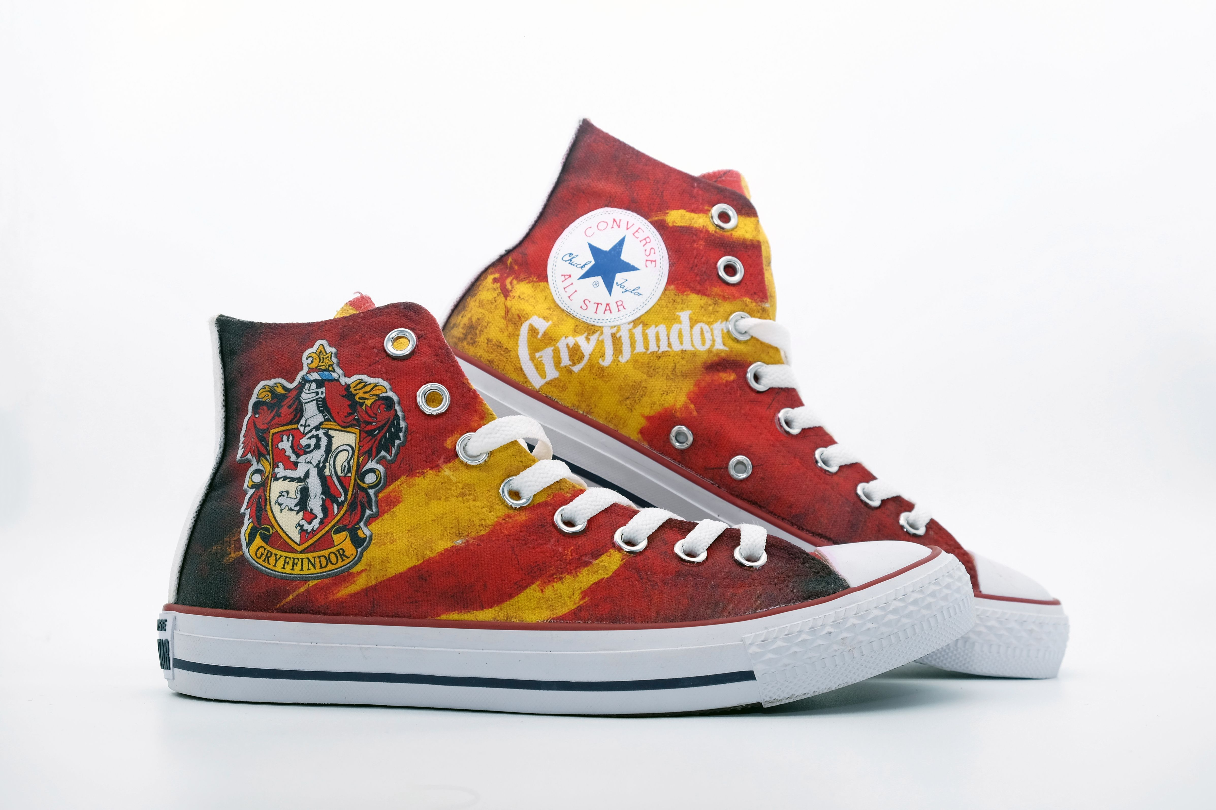 03347c9a434809 Harry Potter Gryffindor Custom Shoes - Harry Potter Shoes - Harry Potter  Converse - Gryffindor Converse