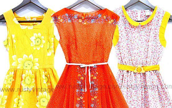 Vintage Dress Wholesale Lot Of 10 Dresses Womens Clothing Bulk Small Medium Large 50s 60s 70s 80s Mix Vintage Dresses Vintage Clothes Shop Dresses
