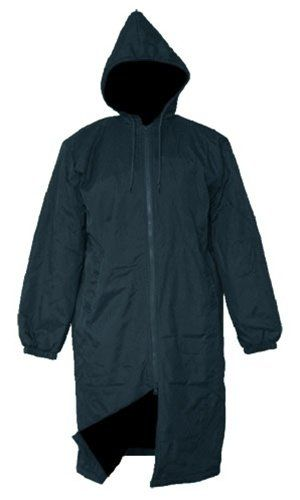 Adoretex Solid Swim Parka(PK005) - Black Lining - Navy - Adult ...