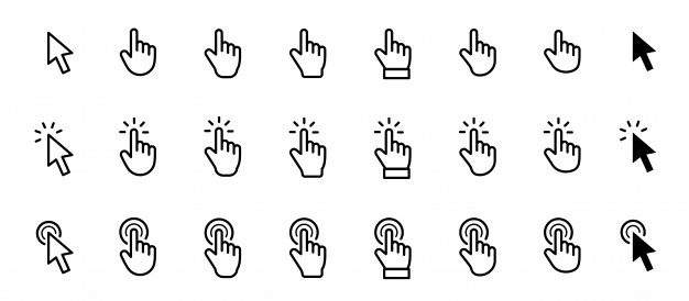 Pointer Cursor Mouse Icon Mouse Icon Action Icon Pointing Hand