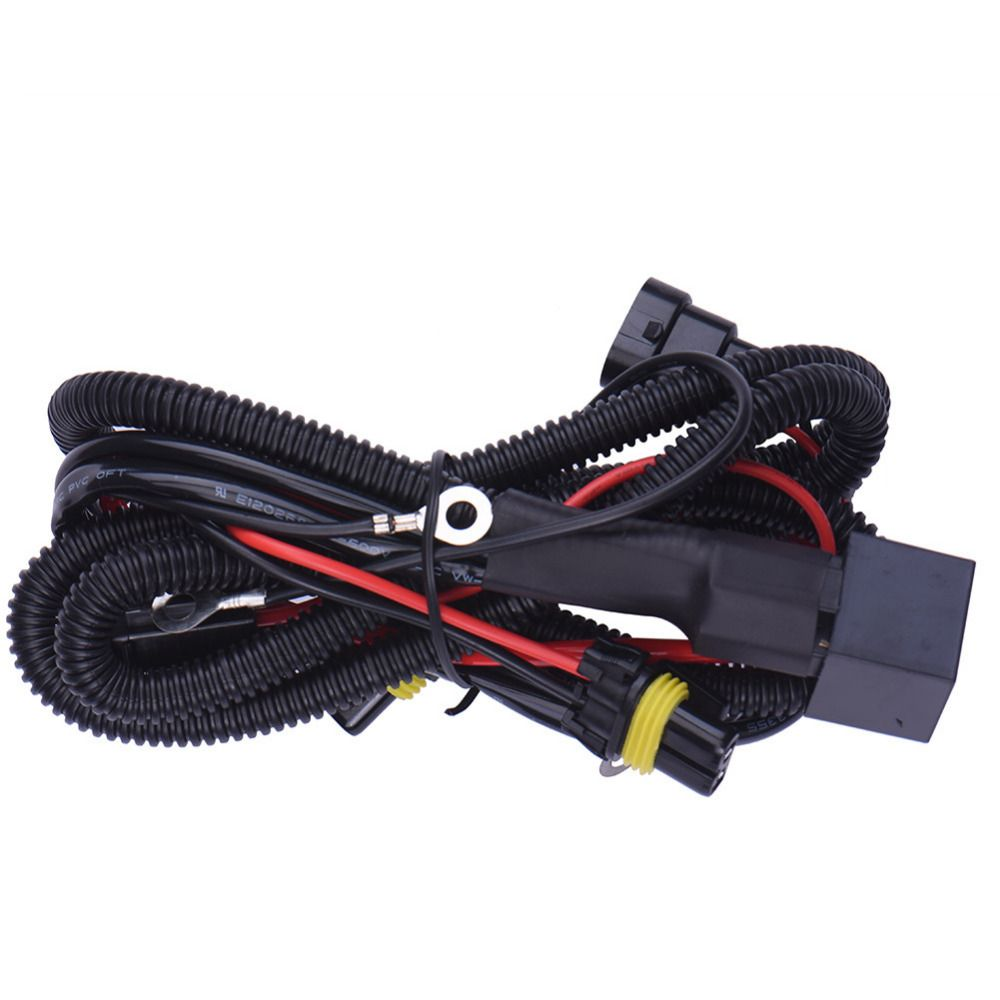 Power Cable Line 9006/HB4 Xenon HID Light 12V 40A Extention Wire ...