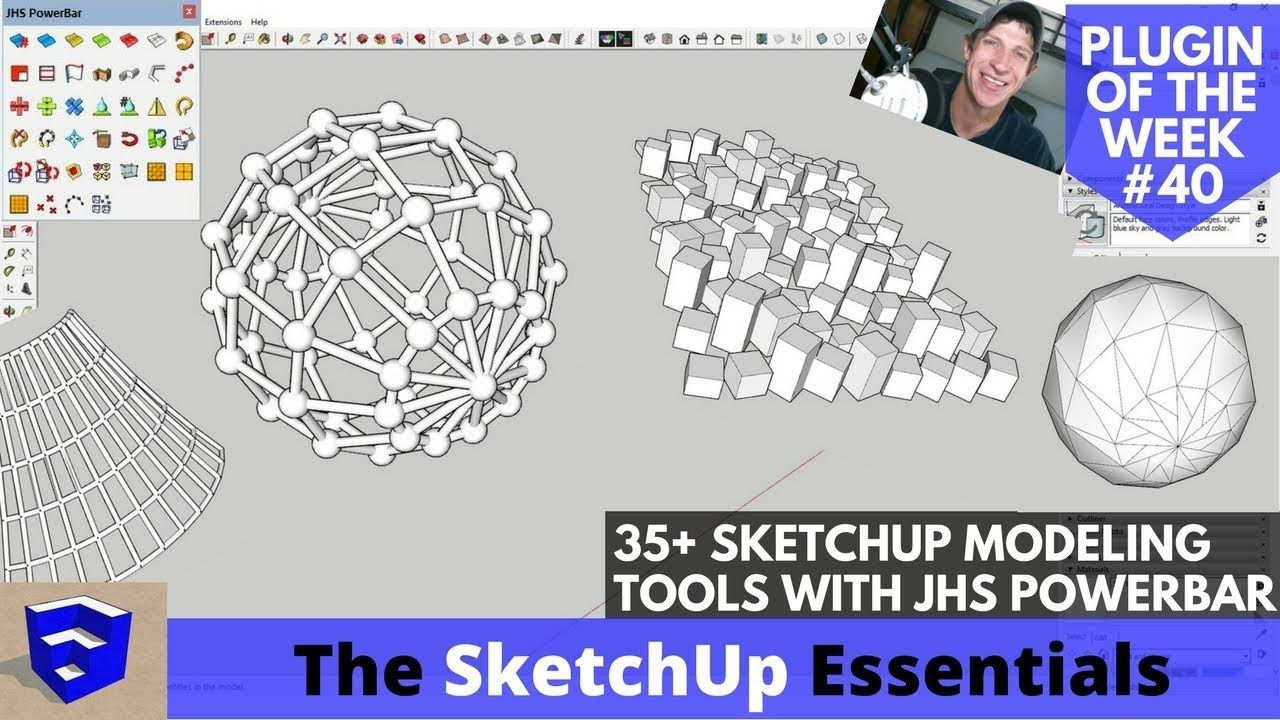Jhs Powerbar 35 Tools For Sketchup All Explained Sketchup