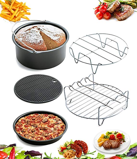 5 Piece Air Fryer Accessories by AIQI