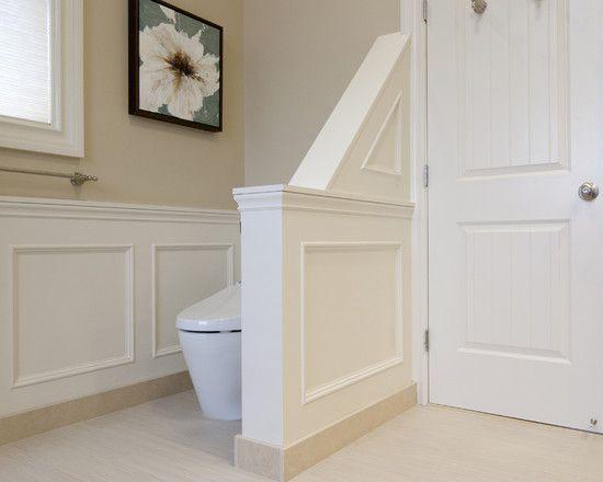 Half Wall Design Ideas Pictures Remodel And Decor Half Walls Bathroom Design Contemporary Bathroom