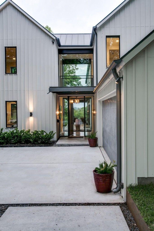 30 Incridible Modern Farmhouse Home Exterior Design Ideas ...