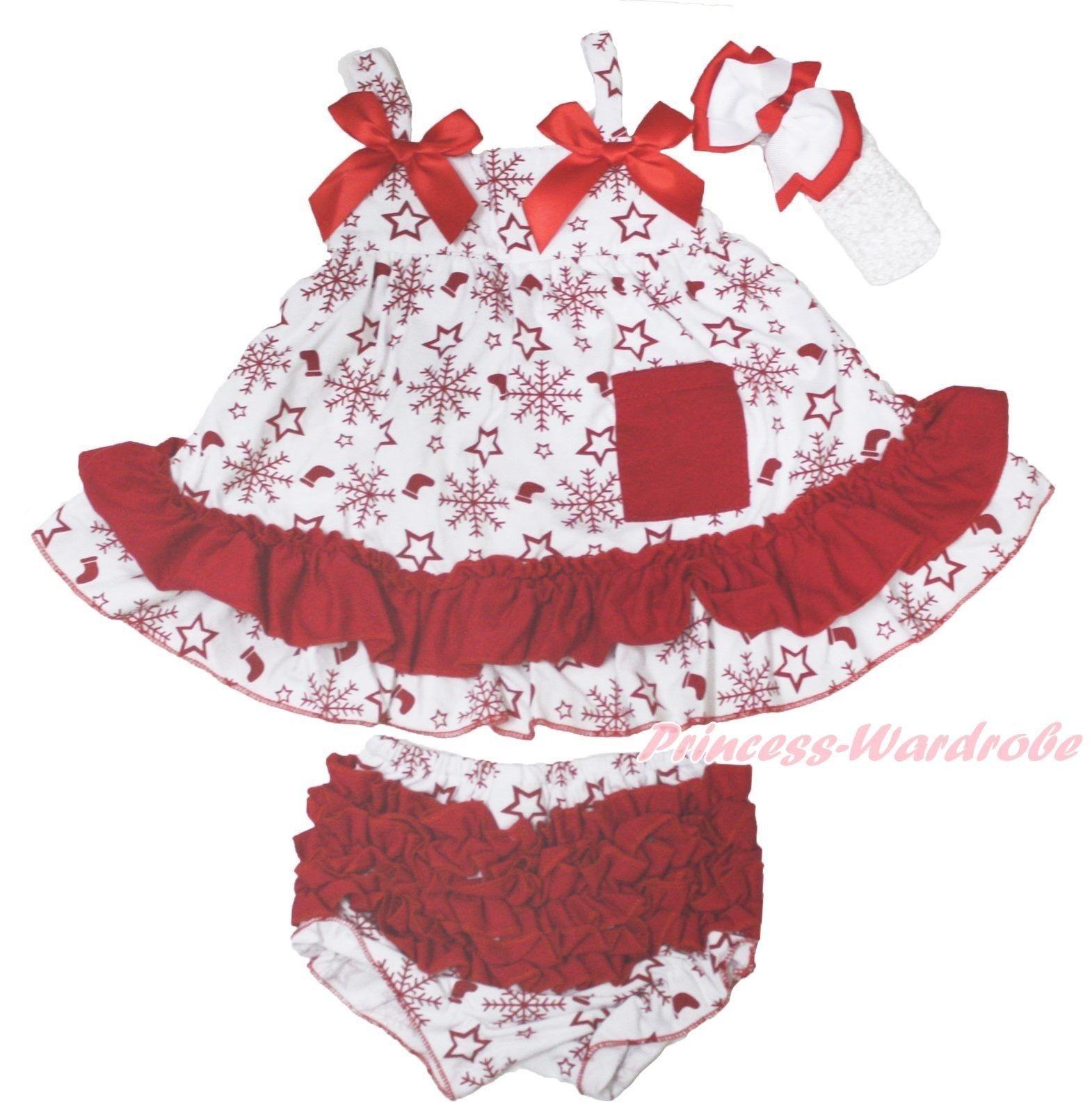 aud xmas red snowflakes star socksborn baby girl elegant