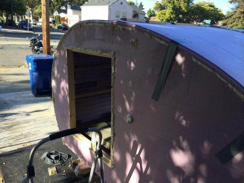 Foamie teardrop camper camper teardrop trailer camping