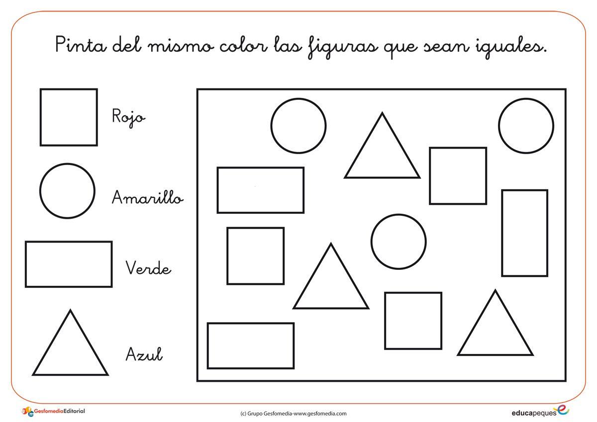 Fichas de infantil actividades para imprimir conceptos for Actividades para jardin infantil