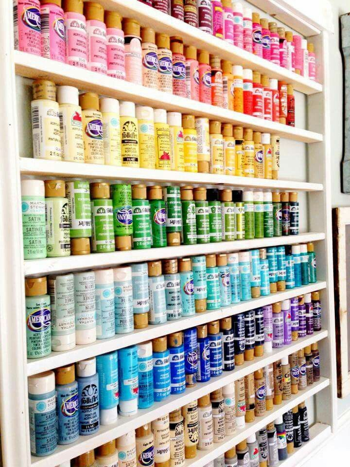 Pin by shanna on sewing room craft room in 2019 art - Supplies needed to paint a room ...