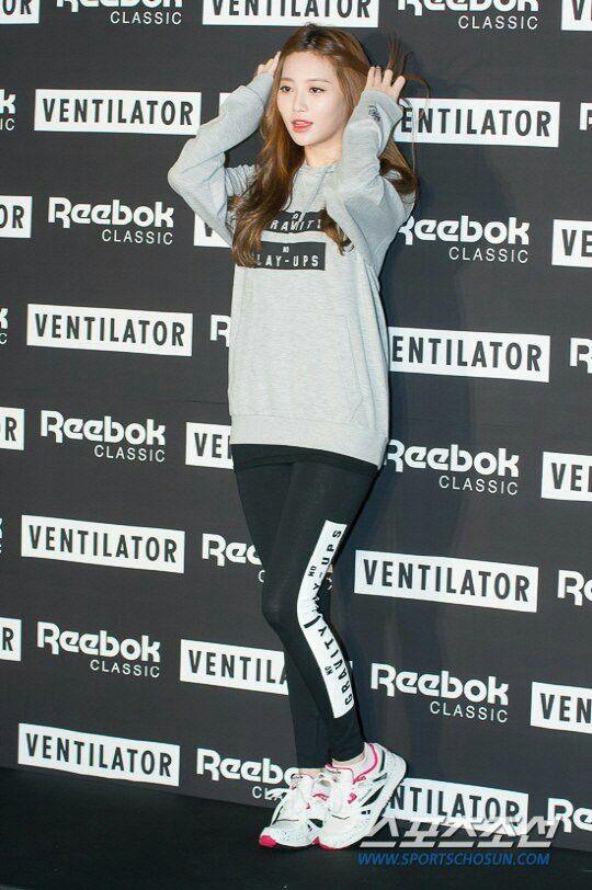 Girls day Yura workout fashion
