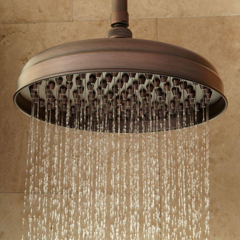 Signature Hardware 926430 12 Lambert 1 9 Gpm Single Function Rain Shower Hea Oil Rubbed Bronze Showers Heads