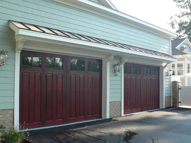 Metal awning garage Awnings Pinterest