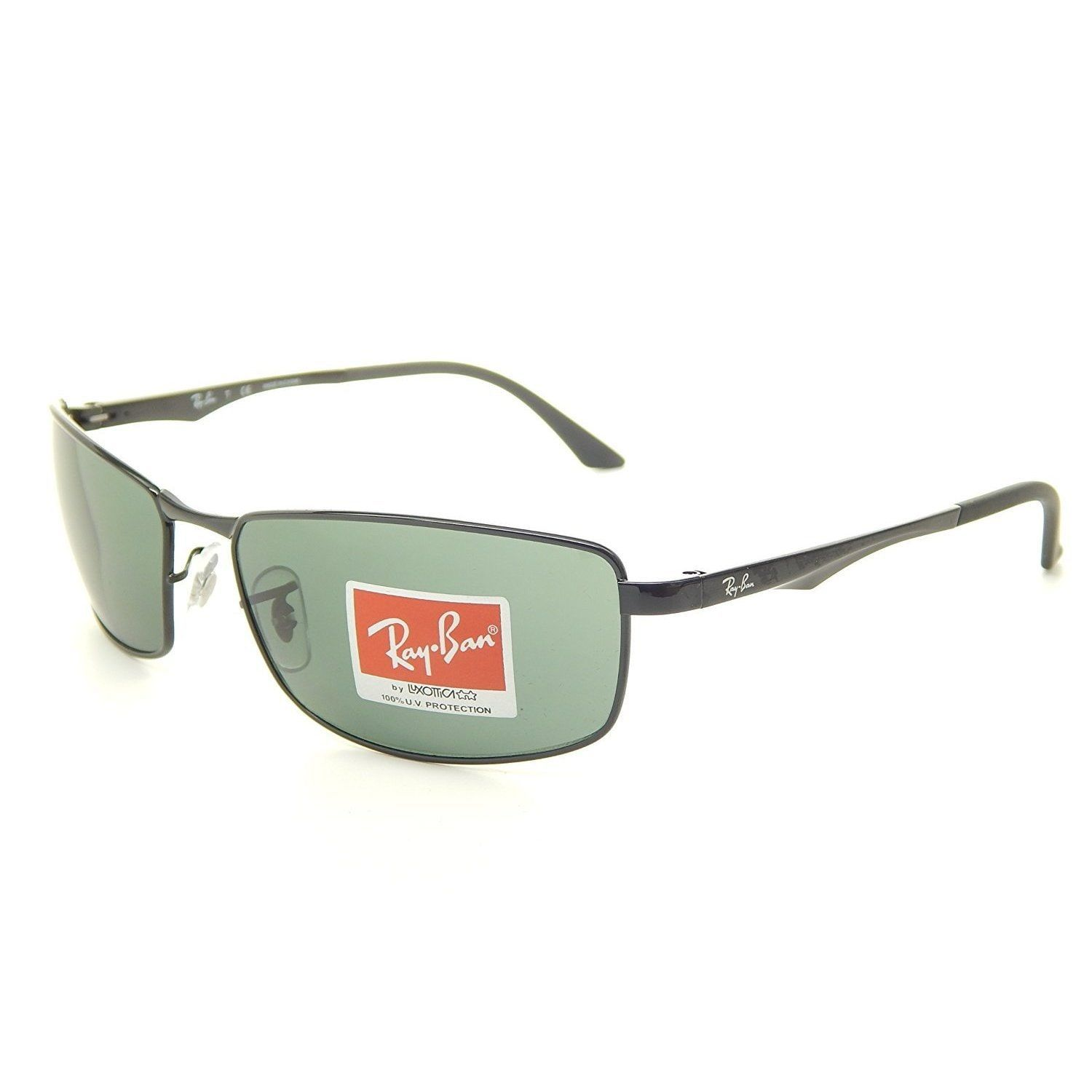 a1a0c31e4c Ray-Ban Unisex RB2176 901S9J Clubmaster Folding Black Gold Frame Green Gradient  Flash 51 mm Lens Sunglasses