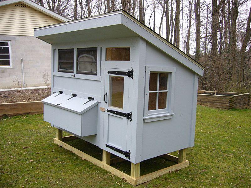 Chicken Coops Front View Of Chicken Coop Diy Chicken Coop