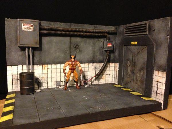 Lab Diorama Custom Diorama / Playset | Action figures/ vintage/ new