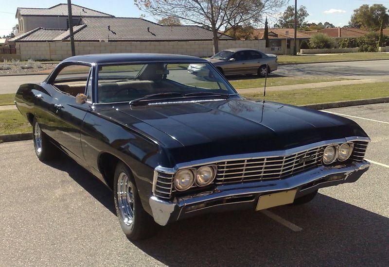 1967 Chevrolet Impala Hardtop Sedan Chevrolet Impala Impala