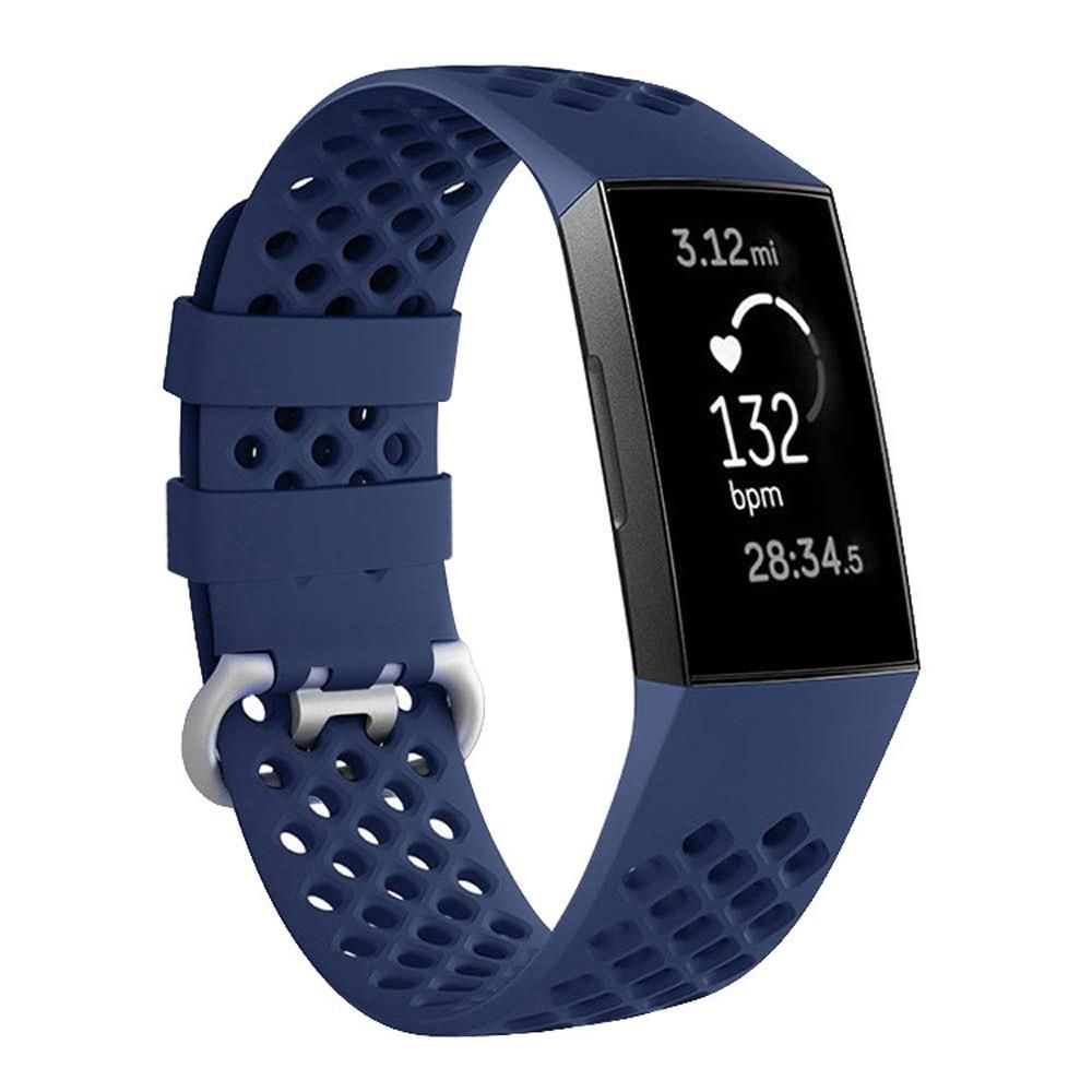 Breathable Silicone Fitbit Charge 3 Band Watch Bands Fitbit Fitbit Charge