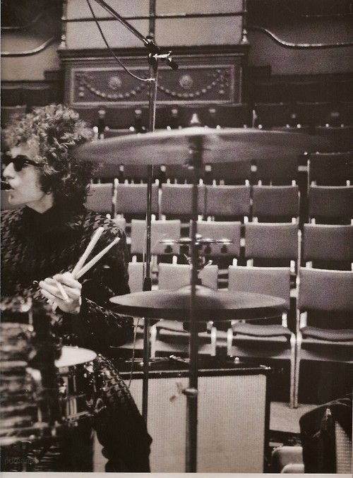 Dylan on drums