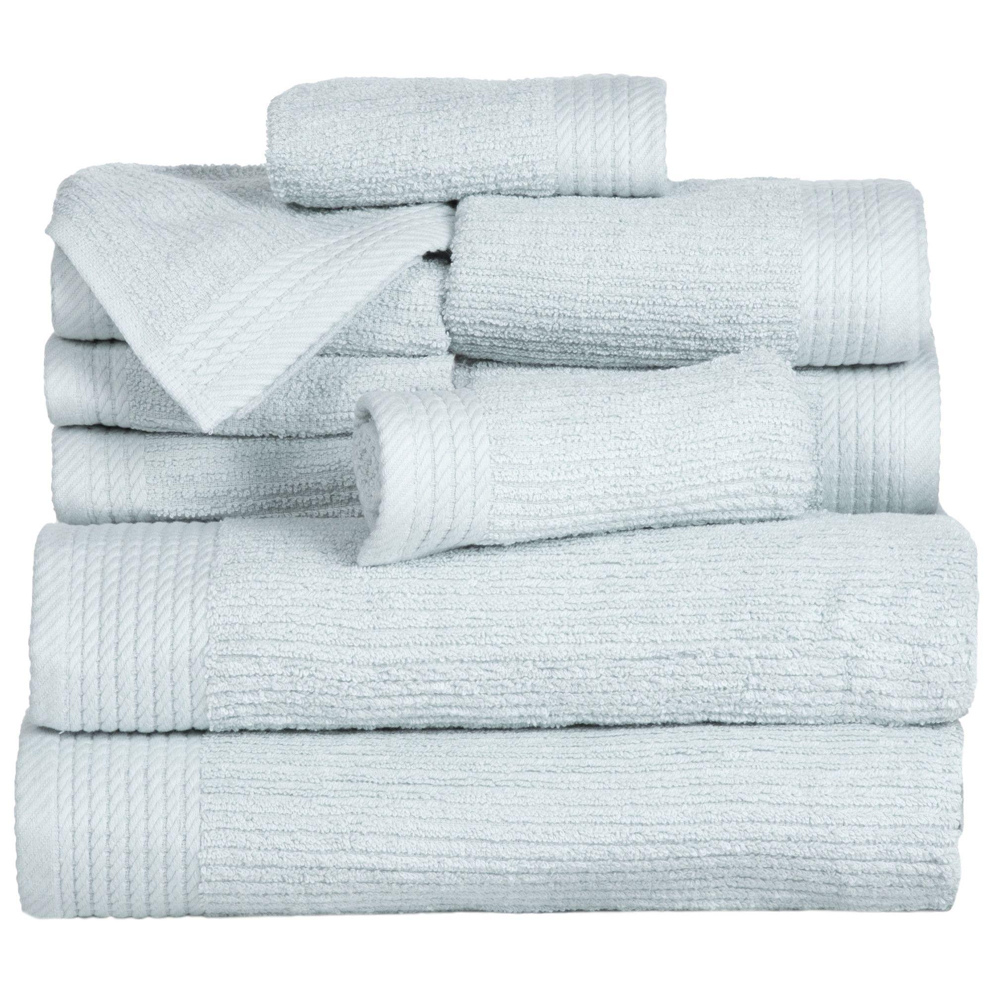 Pernelia 10 Piece 100 Egyptian Quality Cotton Towel Set Towel