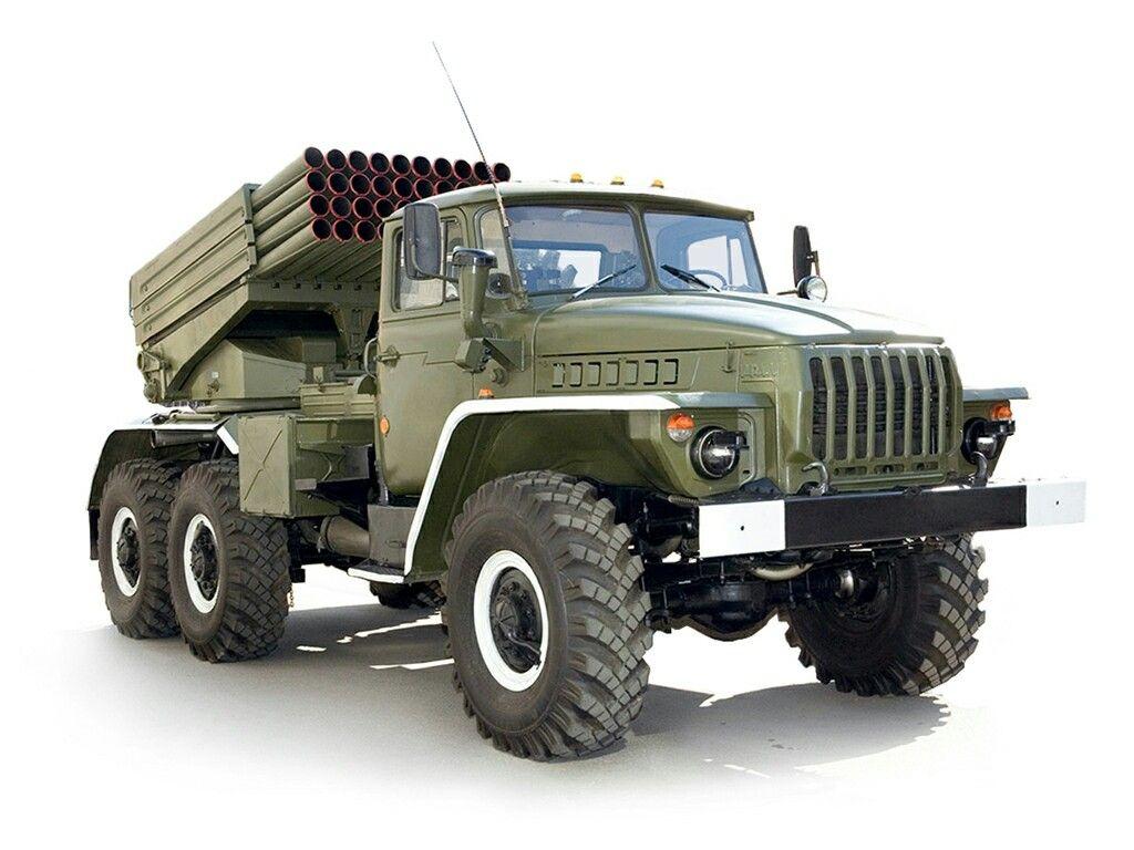 100%™ 1986-93 Ural 4320 BM21-1 RSZO Grad | Russian Red ...