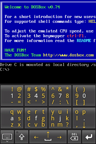 AnDOSBox v1 2 8 apk Requirements: Android 1 6+ Overview: A DOSBox