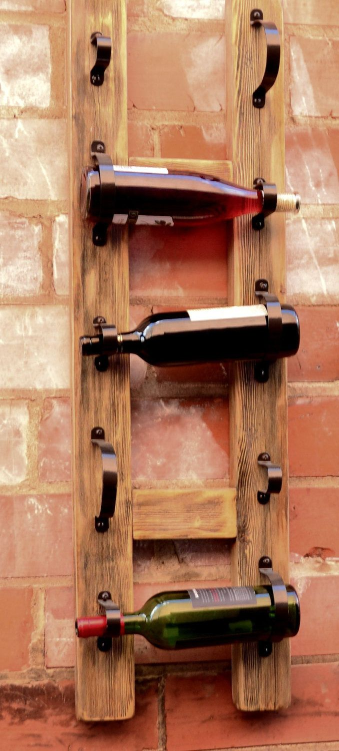 The Sonoma Wall Mount Wine Rack 6800 Via Etsy Home