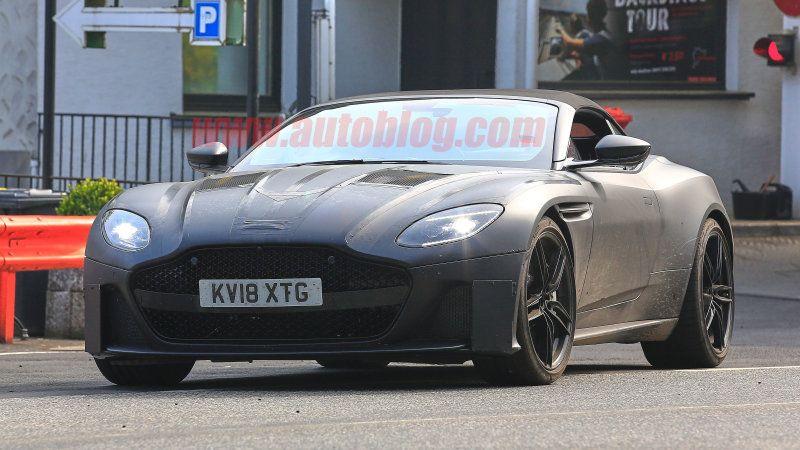 2019 Aston Martin Dbs Superleggera Volante Breaks Cover About Auto