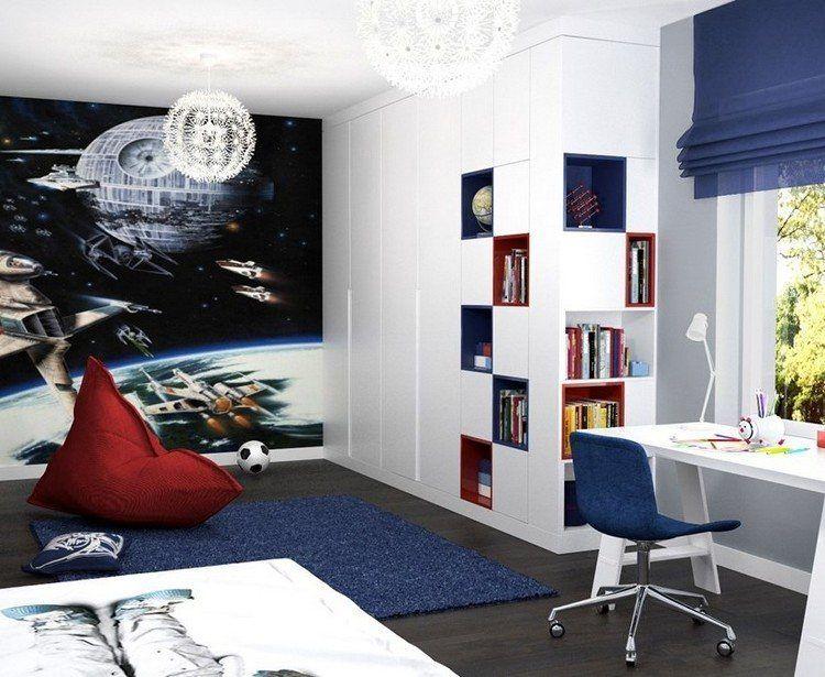 Déco murale chambre enfant - papier peint, stickers, peinture Room