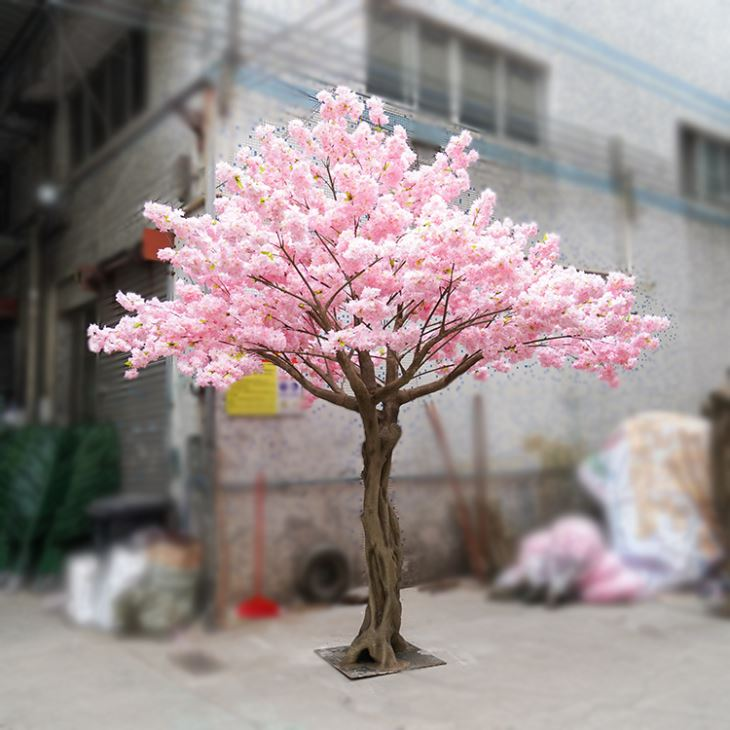 China 4m Tall Light Pink Cherry Blossom Tree Suppliers Manufacturers Factory Cu Artificial Cherry Blossom Tree Cherry Blossom Tree Pink Cherry Blossom Tree