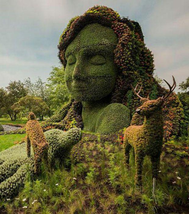 Garden Art Plus: Découvrez Les Plus Belles Sculptures Botaniques Du