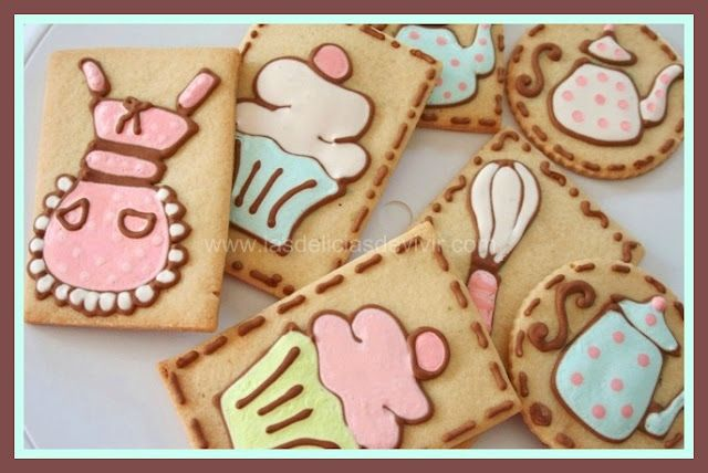 Adorable cookies with video tutorial