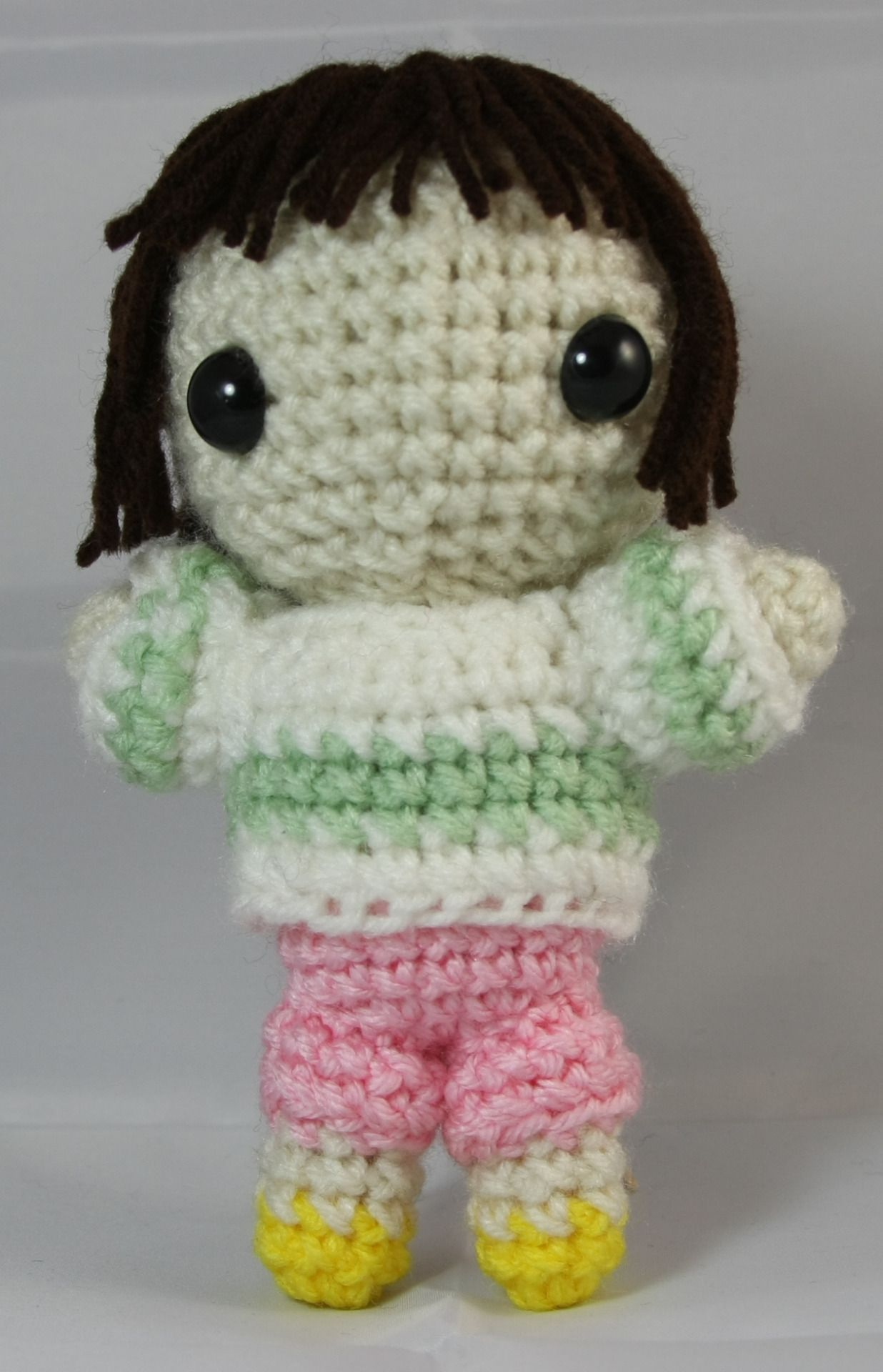 Chihiro crochet pattern spirited away crochet pinterest day chihiro from spirited away im starting the seven days of patterns with the heroine of studio ghiblis spirited away directed by hayao miyazaki bankloansurffo Images