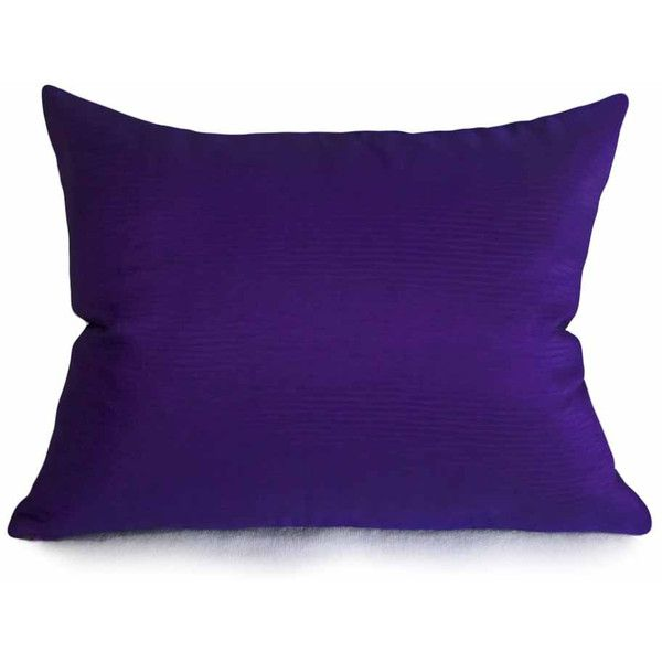 Lovely Jewel Tone Purple Pillow Holiday Pillows 14x18 Lumbar Solid Purple $22 Top Design - Beautiful throw pillows for sofa Inspirational