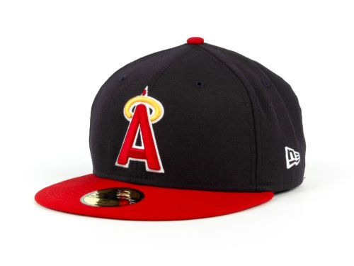63211cb156c Los Angeles Angels of Anaheim New Era MLB Cooperstown 59FIFTY Hats