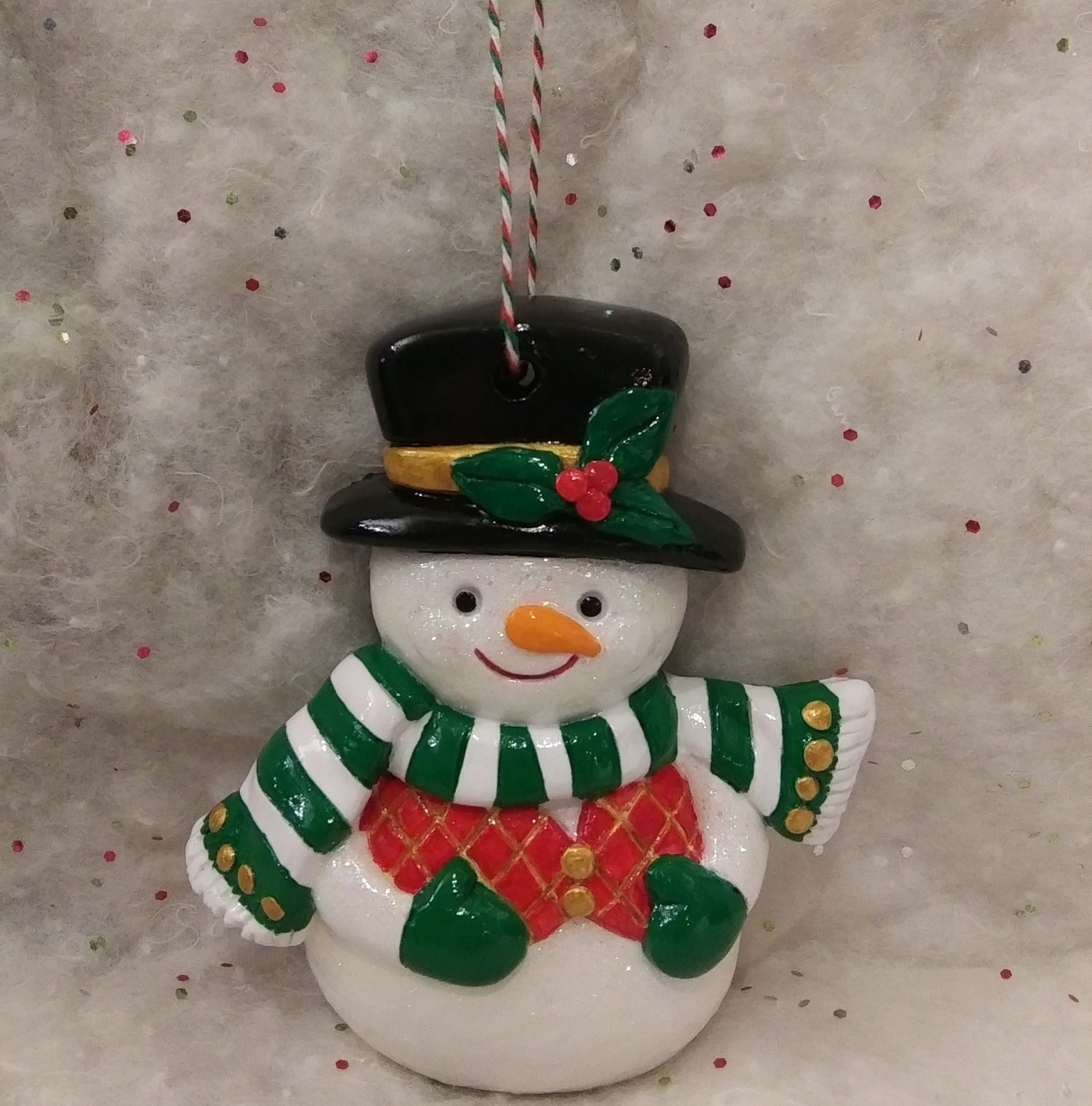 Christmas Ornament Snowman Hand Painted Snowman Ornament Etsy Christmas Ornaments Painted Christmas Ornaments Hand Painted Ornaments
