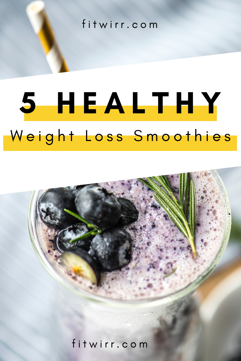 5 Best Smoothie Recipes for Weight Loss images