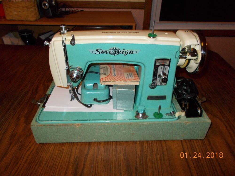 Vintage Brother Sovereign Precision Deluxe Sewing Machine In Great Classy Brother Charger 651 Sewing Machine Manual