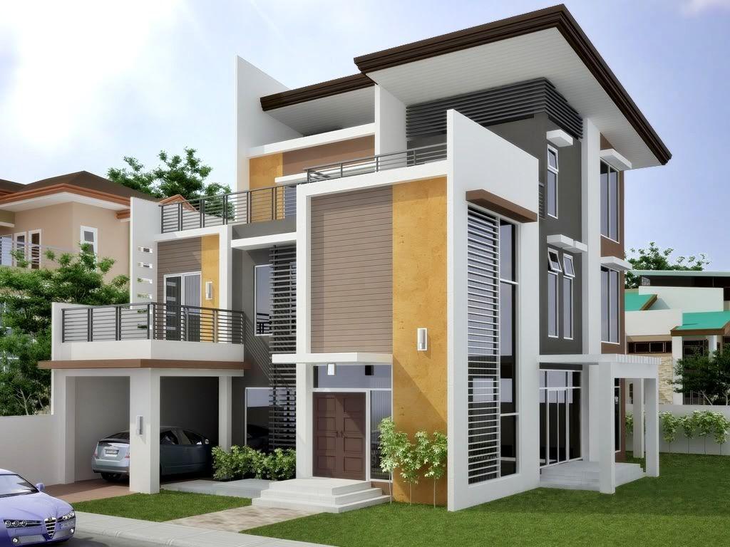 50 Model Desain Rumah Minimalis 2 Lantai Memiliki Sebuah Rumah