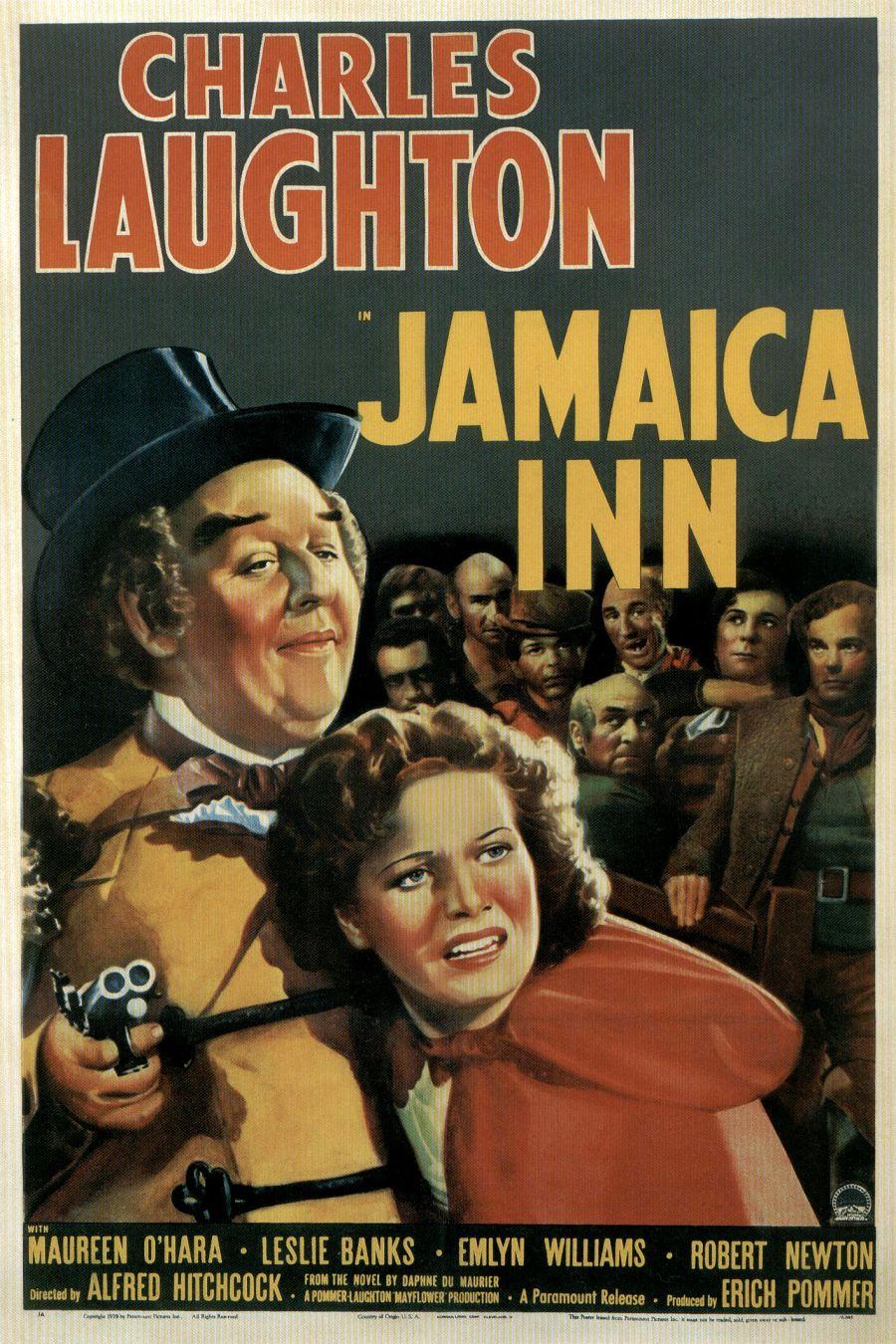 Jamaica Inn (1939, dir. Alfred Hitchcock) US poster