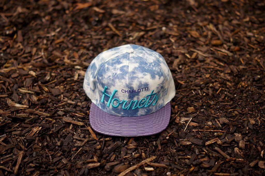 JUST DON Charlotte Hornets - Acid Wash / Purple | Apparel | Kith NYC