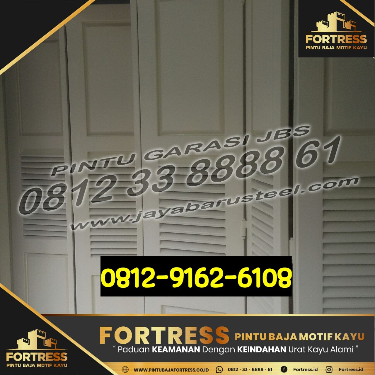Pin Di 0812 9162 609 Fortress Pintu Garasi Mobil Aluminium Pintu Garasi Mobil Mewah Pintu Garasi Mobil Kayu Banjar Masin