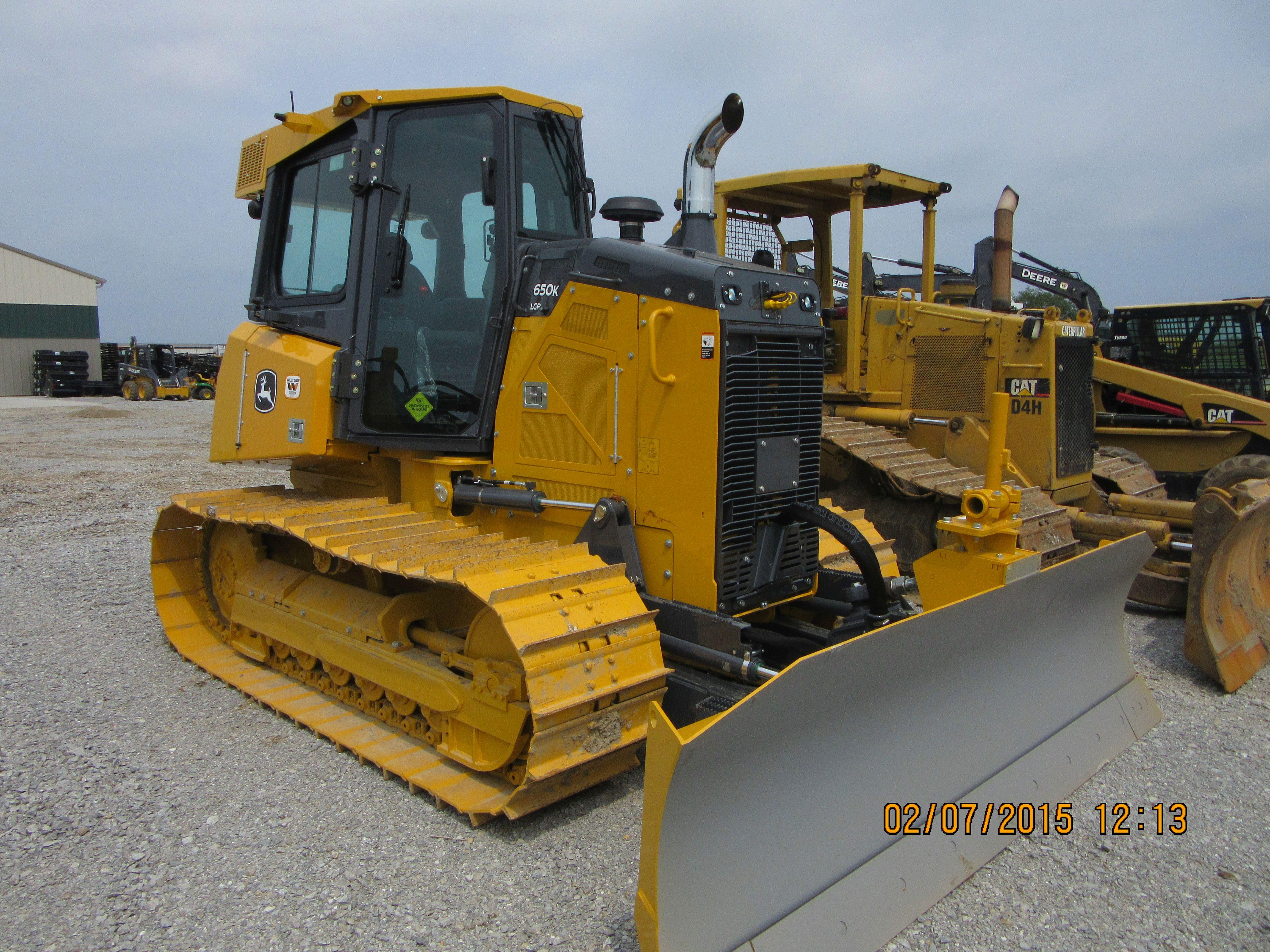 John Deere 650K LGP | JD construction equipment | Heavy