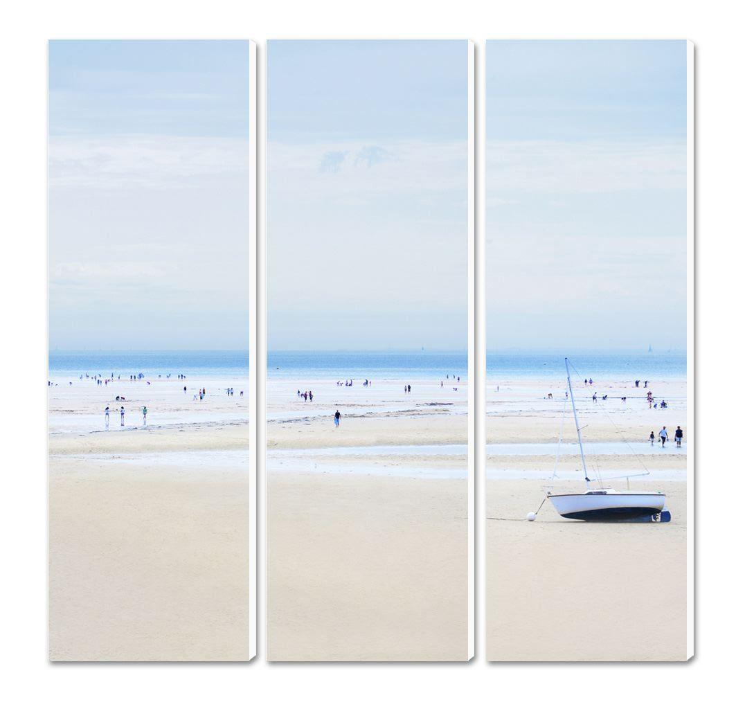 Photo sur toile Bretagne La plage du Men Du - La Trinité sur Mer ...