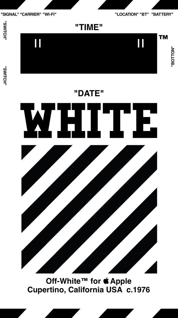 Off White Wallpaper Iphone Å£ç´™ 18 4 3 8 Offwhite Ã'ªãƒ•ãƒ›ãƒ¯ã'¤ãƒˆ Iphone Offwhite Wallpape White Wallpaper For Iphone Iphone Wallpaper Off White Wallpaper Off White