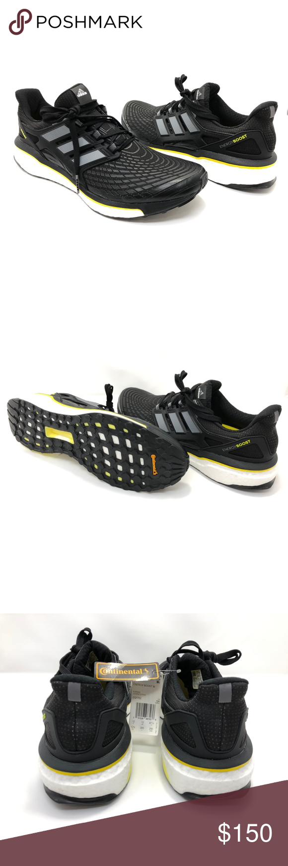 buy online 48f94 dae3f Adidas Energy Boost Mens Training Running Shoes ADIDAS CQ1762 Adidas  Energy Boost Mens running shoes Size 12.5 BlackWhite Low top New without  box 55A927 ...