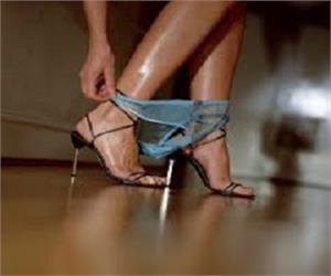 Legs High Heels Panties Ballet