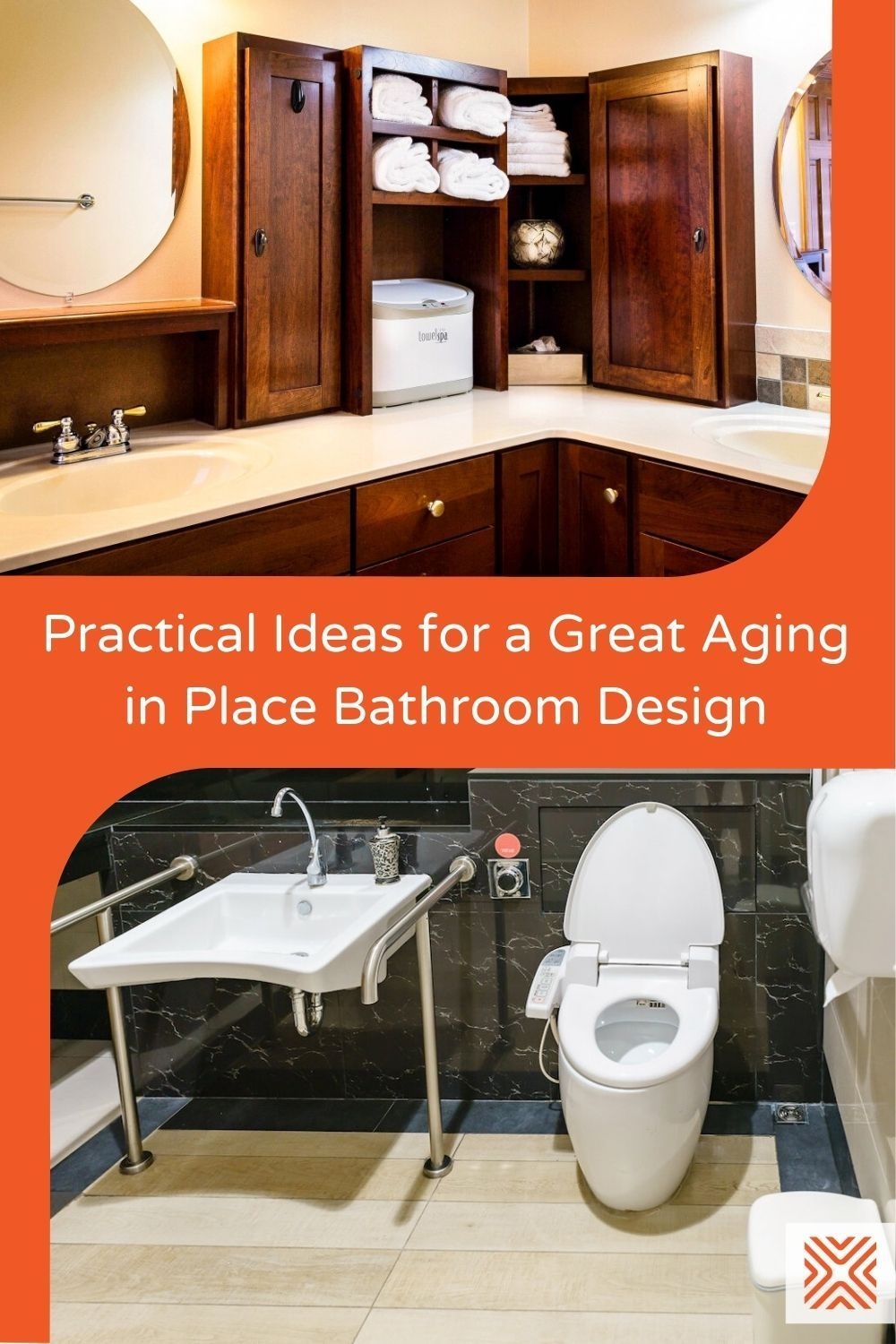 Having a senior-friendly bathroom is one of the most important remodeling projects when it comes to aging in place. So let's have a look at some practical aging in place bathroom ideas for your home