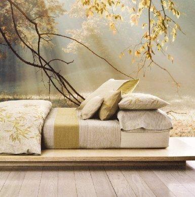 Natuur behang rustige kleuren - slaapkamer | Pinterest - Natuur ...
