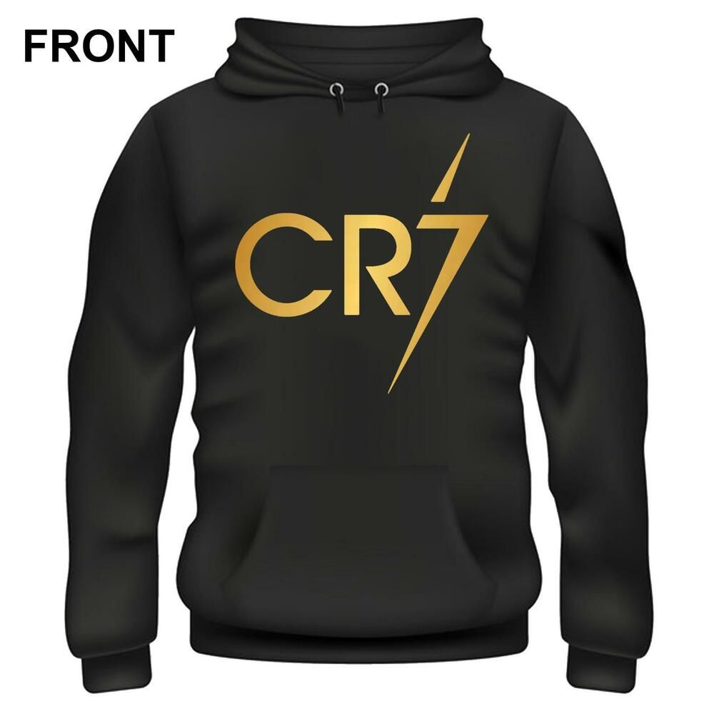 Christiano Ronaldo Cr7 Iconic Football Hoodie Different Colours Available Us Fashion Clothing Shoes Accessories Menscloth Hoodies Active Wear Mens Outfits [ 1000 x 1000 Pixel ]